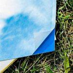 10PACK Bleu engluées contre les mouches blanches, mouches des terreaux et pucerons ailés anti-insectes pour plantes insectes Sticky pièges de colle Blanc Feuille de mouches Fly Trap Sticker(20X25cm) de la marque TIANOR image 2 produit