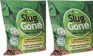 2x Vitax Bio Laine très efficace Slug Gone escargots et limaces Granulés 1L de la marque Vitax-Ltd image 0 produit