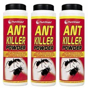 3X Pestshield ANT Killer Poudre insectes rampants intérieure et Excellente visibilité 240g de la marque Pestshield image 0 produit
