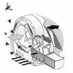 368G Destructeur d'insectes écologique mouches ,moustiques, moucherons de la marque insectivoro image 2 produit