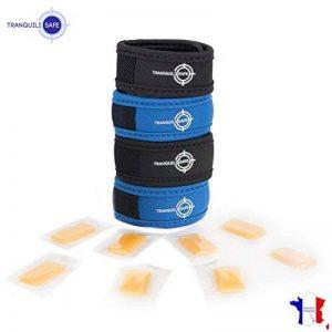 4 BRACELETS ANTI MOUSTIQUES TRANQUILISAFE® + 8 RECHARGES AUX HUILES ESSENTIELLES de la marque TRANQUILISAFE image 0 produit