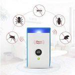 4 PCS Répulsif antiparasitaire, maison extérieure électronique ultrasonore non radiatif antiparasitaire souris souris antiparasitaire répulsif antiparasitaire pour les araignées, les rats, les souris, les cafards, les moustiques, d'autres insectes de la m image 3 produit