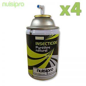 4 Recharges PYRETHRE Naturel, anti mouches, anti moustiques, anti mites, anti moucherons Effet Longue Durée de la marque TermiTech image 0 produit