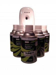 5 recharges de pyrèthre + 1 diffuseur OFFERT - PYRETHRE Naturel, anti mouches, anti moustiques, anti mites , anti moucherons Effet Longue Durée de la marque Nuisipro image 0 produit
