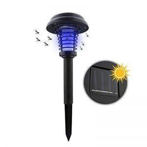 A-SZCXTOP Lampe anti-moustique solaire Killer Intérieur et extérieur Insect Killer LED UV Lampe Bug Zapper Light pour jardin Décoration Camping pêche de la marque A-SZCXTOP image 0 produit