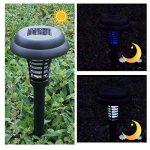 A-SZCXTOP Lampe anti-moustique solaire Killer Intérieur et extérieur Insect Killer LED UV Lampe Bug Zapper Light pour jardin Décoration Camping pêche de la marque A-SZCXTOP image 3 produit