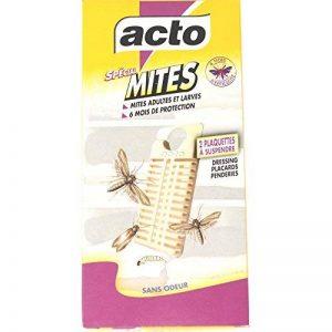 ACTO - Pièges ANTI MITES et LARVES de MITES des Vêtements x 2 pièces à suspendre de la marque Acto image 0 produit