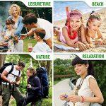 ACTOPP Bracelets Anti Moustique Pour Adultes et Enfants Protection Extérieure Intérieure 100% Naturel sans Deet 10 Packs 5 Couleur de la marque AcTopp image 4 produit