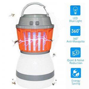 Aeeyuimosquito lampe ampoules à LED, 2en 1anti-insectes et étanche, insecticides, compact, 2200mAh Batterie et portable | en intérieur et en extérieur, la maison et les voyages, le camping, de la marque AeeYui image 0 produit