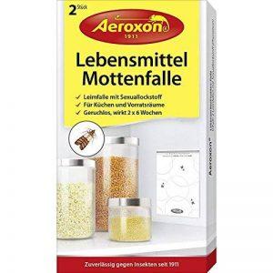 Aeroxon 44442 Lot de 2 Pièges à mite alimentaire Blanc 18 x 13 x 4 cm de la marque Aeroxon image 0 produit