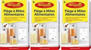 Aeroxon Piège à Mites alimentaire - Offre économique - 6 pièges simples de la marque Aeroxon image 0 produit