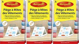 Aeroxon Piège à Mites vestimentaires - Offre économique - 6 pièges simples de la marque Aeroxon image 0 produit