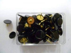 Alco-Albert Lot de 100 punaises Noir 9,5 mm de la marque Alco-Albert image 0 produit