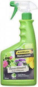ALGOFLASH NATURASOL BIOCLOPRETAN Anti-Chlorose Reverdissant Toutes Plantes - Prêt à L'emploi 750 ML, Vert, 12 x 7 x 26 cm de la marque ALGOFLASH NATURASOL image 0 produit
