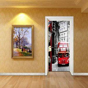 All Bus 3D Habillage Mural Porte Pvc de la marque All image 0 produit
