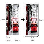 All Bus 3D Habillage Mural Porte Pvc de la marque All image 1 produit