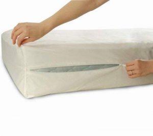 Allersoft Protège-matelas anti-acariens et punaises de lit en coton 90 x 190 x 25 cm de la marque Allersoft image 0 produit