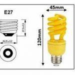 Ampoule anti moustique Eco energie de la marque Astuce Eco pratique d'Emélie image 1 produit