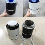 ANFAY USB Électronique Bug Zapper LED Tueur De Moustique Lampe Photocatalyse Non Radiatif Mute Non Chimique Tueur De Ravageurs,Black de la marque ANFAY image 6 produit