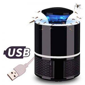 ANFAY USB Électronique Bug Zapper LED Tueur De Moustique Lampe Photocatalyse Non Radiatif Mute Non Chimique Tueur De Ravageurs,Black de la marque ANFAY image 0 produit