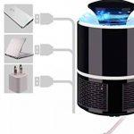 ANFAY USB Électronique Bug Zapper LED Tueur De Moustique Lampe Photocatalyse Non Radiatif Mute Non Chimique Tueur De Ravageurs,Black de la marque ANFAY image 2 produit