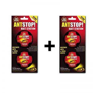 Ant Stop! - Station d'appât, boîte anti-fourmi pour maison- 4stations d'appât de la marque ANTSTOP image 0 produit