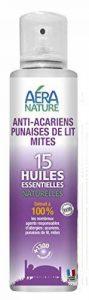 Anti-acariens, punaises de lit et mites, 200ml, aux 15 huiles essentielles naturelles de la marque AERA NATURE image 0 produit