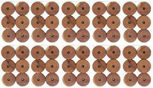 Anti-mites en bois de cèdre anti-mites oreilles pour cintre Ø 3,5cm Lot de 60 de la marque TOP Marques Collectibles image 0 produit