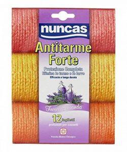 ANTI MITES PUISSANT POUR TIROIRS LAVANDE 12 FEUILLETS de la marque NUNCAS image 0 produit