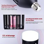 Anti Moustique Lampe - 9W Lampe anti-moustique UV LED Répulsif - Efficace Portée 30-40m² - Tue Mouche Electrique Lampe Insecte Volants Destructeur Sans-radiation, Non-toxic, Non-fumée Piège Moustique de la marque CroLED image 1 produit