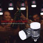 Anti Moustique Lampe - 9W Lampe anti-moustique UV LED Répulsif - Efficace Portée 30-40m² - Tue Mouche Electrique Lampe Insecte Volants Destructeur Sans-radiation, Non-toxic, Non-fumée Piège Moustique de la marque CroLED image 3 produit