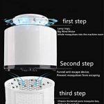 Anti-moustique lampe maison intérieure silencieux automatique contrôle de la lumière restaurant, USB avec plug-in électrique d'inhalation anti-moustique contrôle (modèle en trois dimensions) CO2 + UV + simulation de l'humidité de la marque YUNGUANG image 4 produit