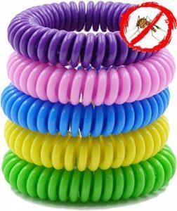 anti-moustiques Bracelets. Lot de 10. imperméable Bracelets pour adultes et enfants. Le meilleur pour l'intérieur et l'extérieur. à base d'huiles naturels de plantes. pas de DEET. de la marque Swamp Aid image 0 produit
