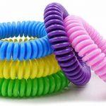 anti-moustiques Bracelets. Lot de 10. imperméable Bracelets pour adultes et enfants. Le meilleur pour l'intérieur et l'extérieur. à base d'huiles naturels de plantes. pas de DEET. de la marque Swamp Aid image 1 produit