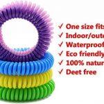 anti-moustiques Bracelets. Lot de 10. imperméable Bracelets pour adultes et enfants. Le meilleur pour l'intérieur et l'extérieur. à base d'huiles naturels de plantes. pas de DEET. de la marque Swamp Aid image 2 produit