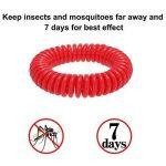 anti-moustiques Bracelets, Naturel anti-moustiques Bracelet avec étanche vous permet de garder les insectes et Acariens Éloignés et de sécurité non toxique (12paquets) de la marque Hompie image 1 produit