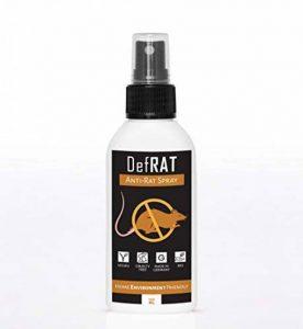Anti rat BIO de DefRAT | 100ml Spray 100% naturel pour éloigner les rats | Alternative sans danger aux pieges & appats à rat & souris de la marque DefRAT image 0 produit