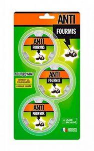 ANTI Set de 3 Fourmis Blister Appât Gel, Vert, 30 g de la marque ANTI image 0 produit