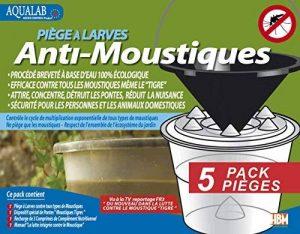 AquaLab Pack 5 Pièges à Larves Anti-Moustiques à assembler de la marque AquaLab image 0 produit