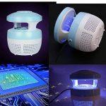 Aquiver Mosquito Killer USB lampe LED, chargeur USB, anti moustique électrique UV lumière Zappers Fly insectes lampe LED, bleu de la marque Aquiver image 1 produit