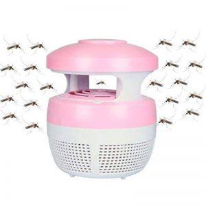 Aquiver Mosquito Killer USB lampe LED, chargeur USB, anti moustique électrique UV lumière Zappers Fly insectes lampe LED, rose de la marque Aquiver image 0 produit