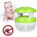 Aquiver Mosquito Killer USB lampe LED, chargeur USB, anti moustique électrique UV lumière Zappers Fly insectes lampe LED, rose de la marque Aquiver image 2 produit