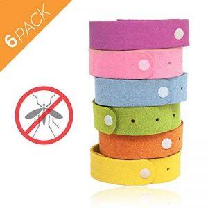 Aspectek - Lot de 6bracelets anti-moustiques naturels, sans DEET et imperméable pour adultes et enfants de la marque Aspectek image 0 produit