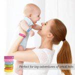 Aspectek - Lot de 6bracelets anti-moustiques naturels, sans DEET et imperméable pour adultes et enfants de la marque Aspectek image 2 produit