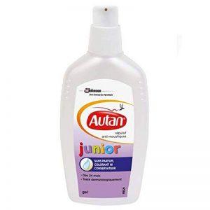 Autan Gel de Protection Anti-Moustiques, Junior Gel, Répulsif, 100 ml de la marque Autan image 0 produit
