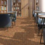 Autocollants de plancher papier de contact de grain de bois imperméable à l'eau PVC autoadhésif autocollants de carreaux de sol de grain de bois artificiel Set Stickers muraux Home Decor résistant à l'huile et résistant aux rayures bureau Antidérapant cui image 3 produit