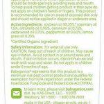 Babyganics anti-insectes naturel, 56,7gram, DEET gratuit 100% naturel, huiles essentielles, Baby Safe–Permet de conserver les moustiques, les moustiques et les mouches Away de la marque BabyGanics image 1 produit