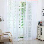 Baoblaze Voilage à Oeillets Rideau en Tulle Décoration pour Chambre Fenêtre 214cm x 100 cm de la marque Baoblaze image 3 produit