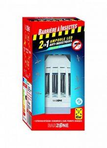 BARRIERE A INSECTES® Ampoule anti-moustiques Barzone Ampoule LED Anti-Moustiques 2 en 1 - Étui 1 Ampoule, Rouge, 8 x 8 x 16.5 cm de la marque BARRIERE A INSECTES® image 0 produit