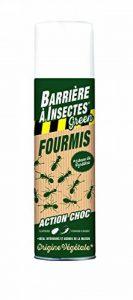 BARRIERE A INSECTES BARBIOFOL500 Anti-Fourmis à base de pyrèthre végétal - Aérosol Vert 6.6 x 6.6 x 24 cm 500 ml de la marque BARRIERE A INSECTES image 0 produit